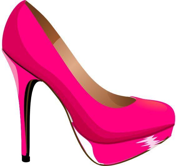 Heels clipart. Kids pink clip art