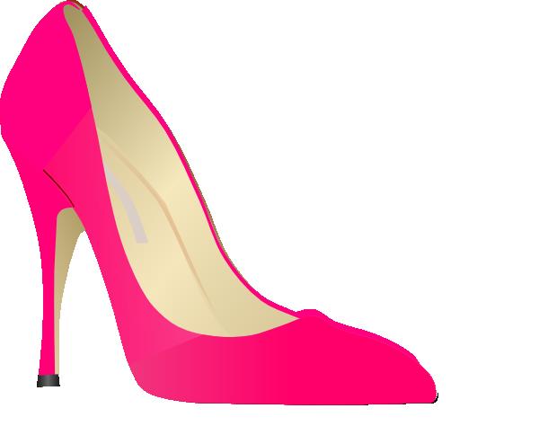 Heels clipart. Pink high clip art