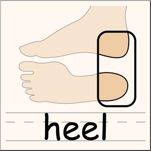 Heels clipart body. Clip art parts of
