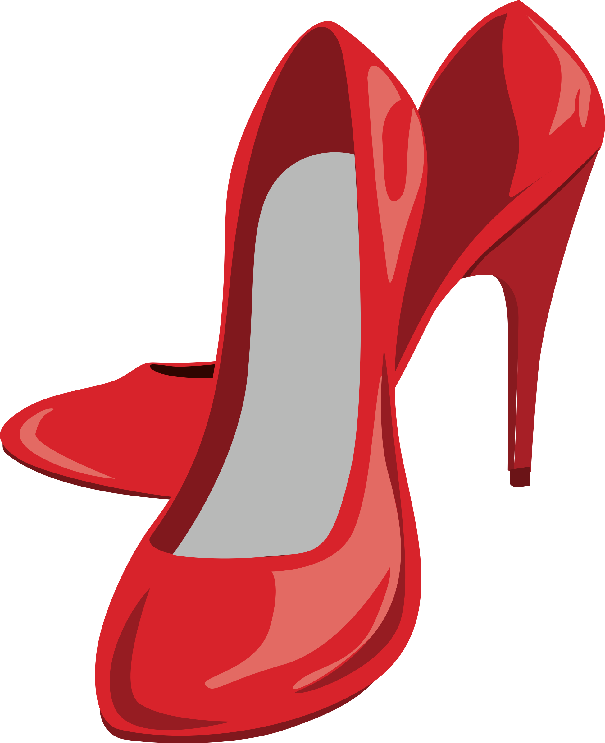 High heel shoes by. Heels clipart cute