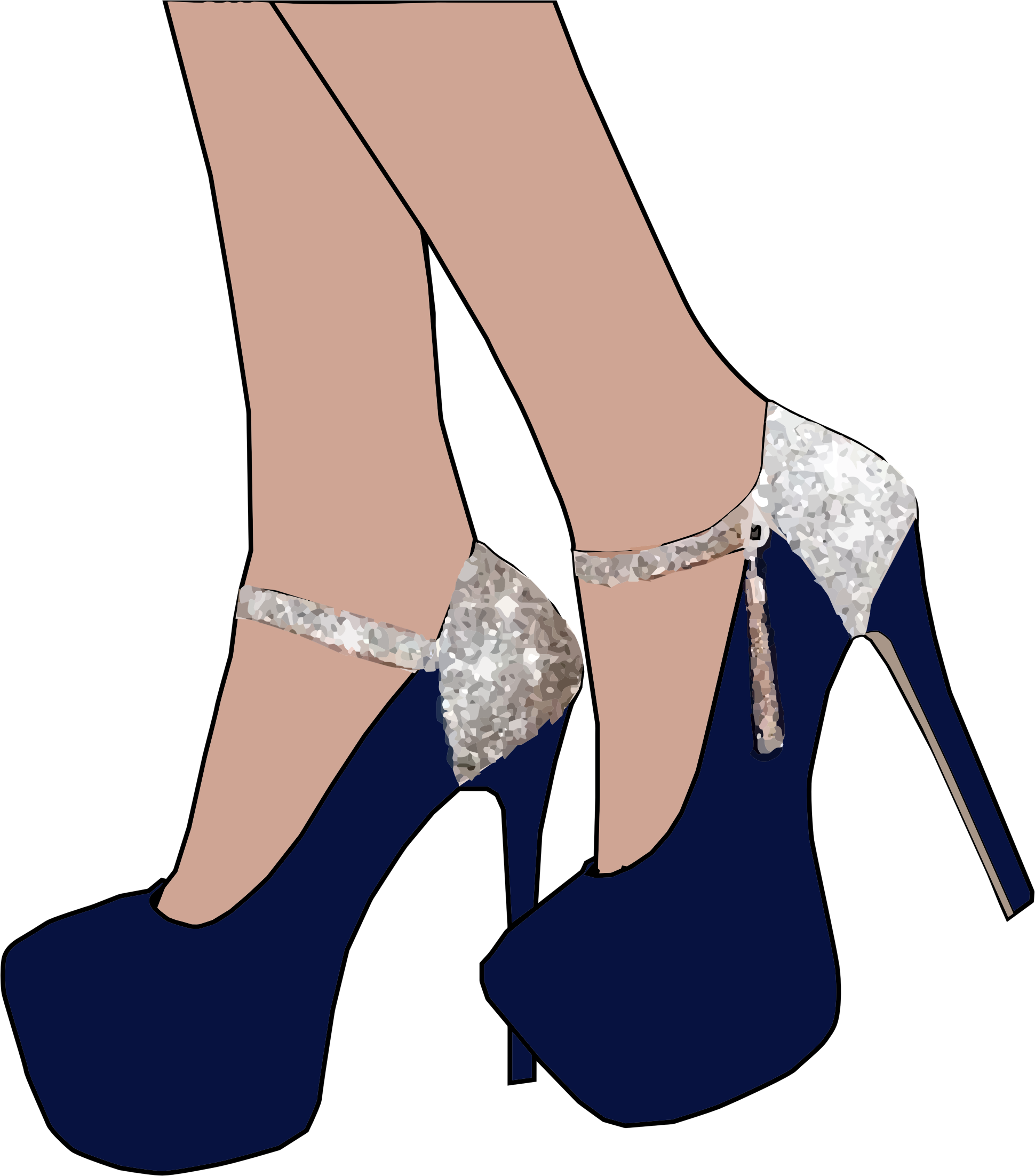 Full clip arts for. Heels clipart daddy long leg