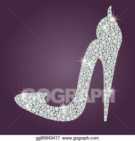 Vector art elegant ladies. Heels clipart diamond