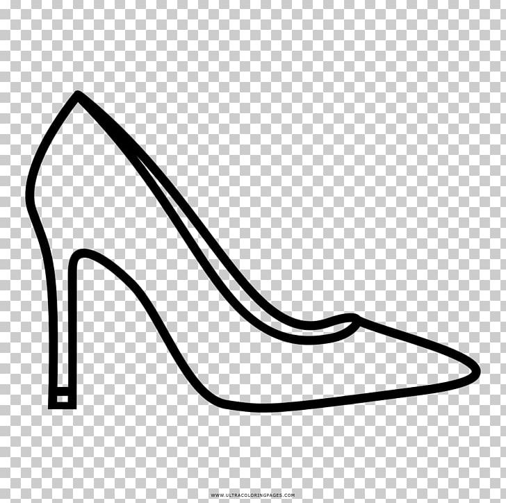 Heels clipart draw shoe. High heeled drawing coloring
