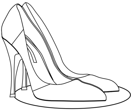 Free high heel download. Heels clipart drawing