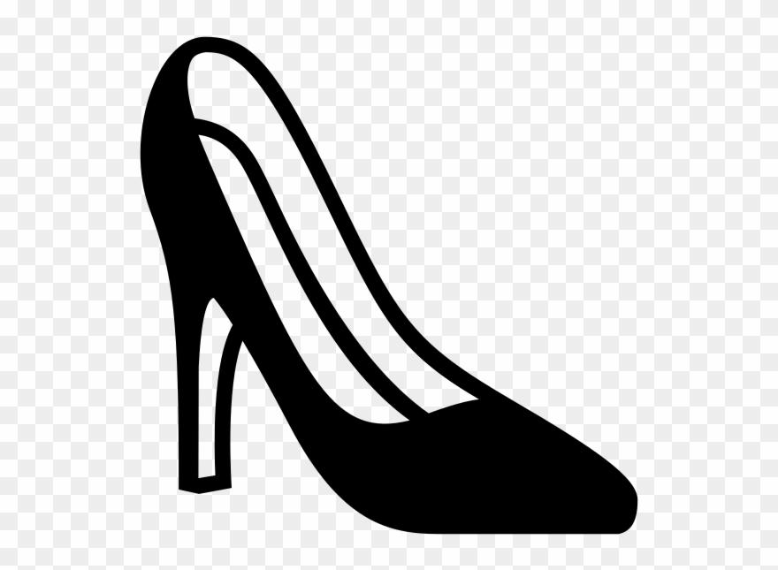 Heels clipart emoji.  pixels black and