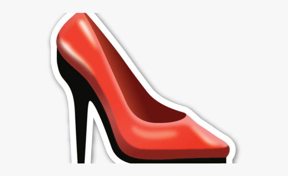 Heels clipart emoji. Shoes transparent background