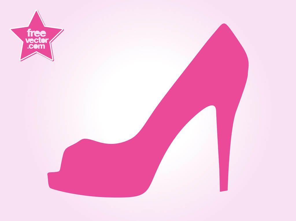 Free high heel vectors. Heels clipart expensive shoe