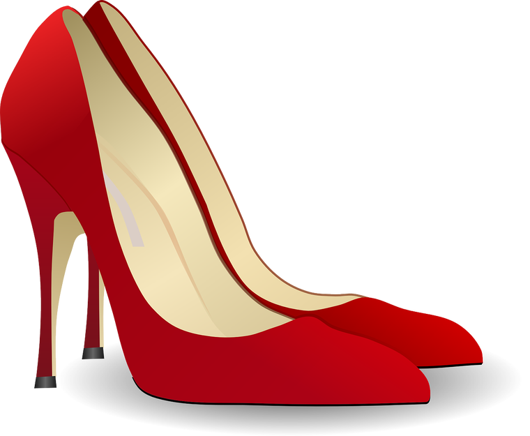 Heels clipart expensive shoe. Run to the or
