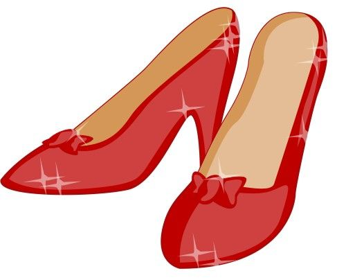 Ruby slippers clip art. Heels clipart expensive shoe