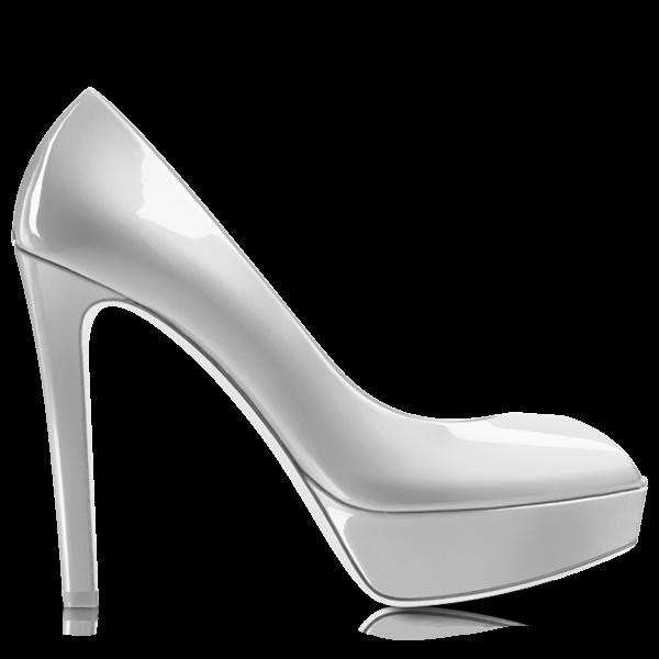 White heelshoe free png. Heels clipart fancy shoe