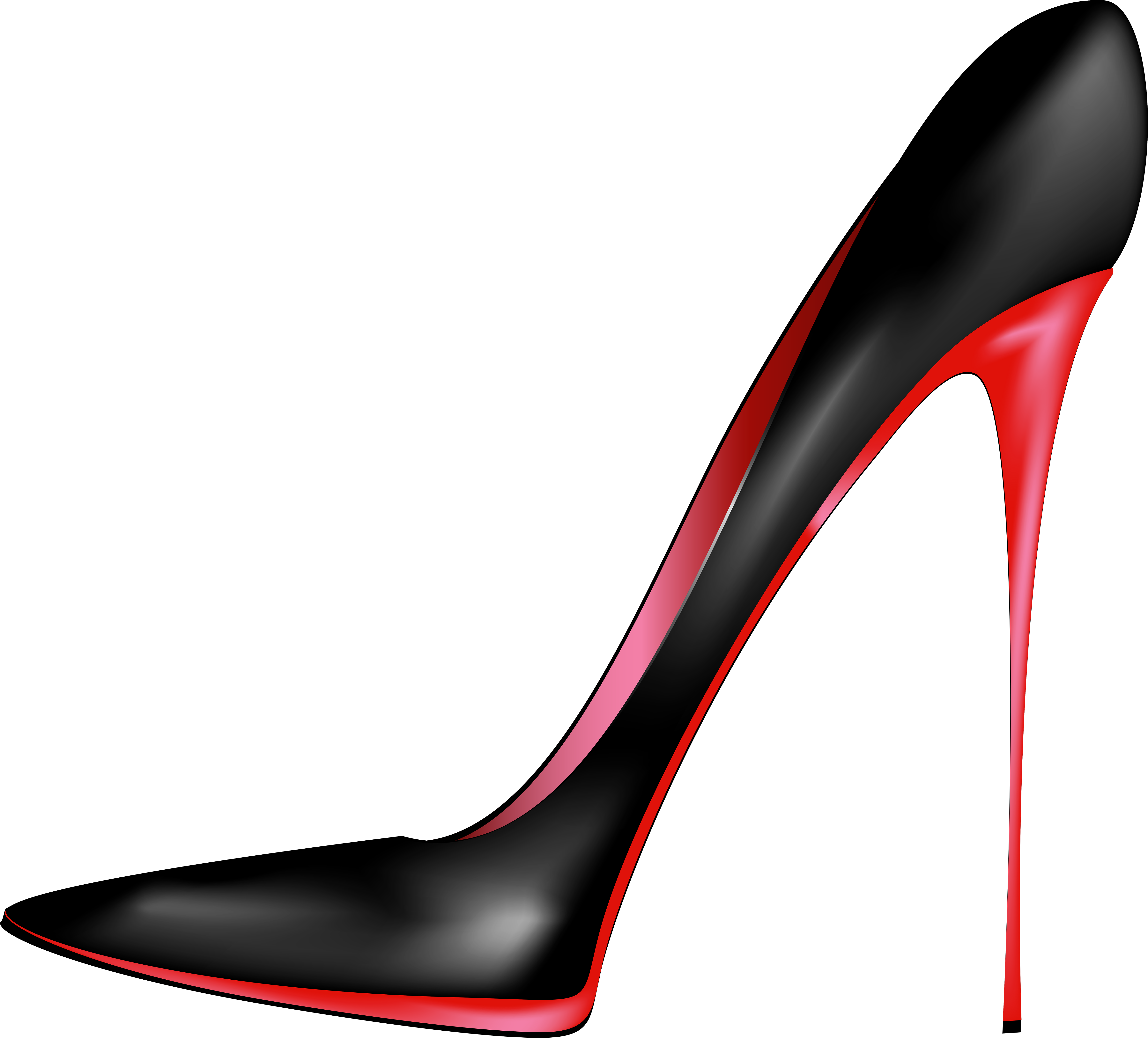 Heels clipart full. Black red high png