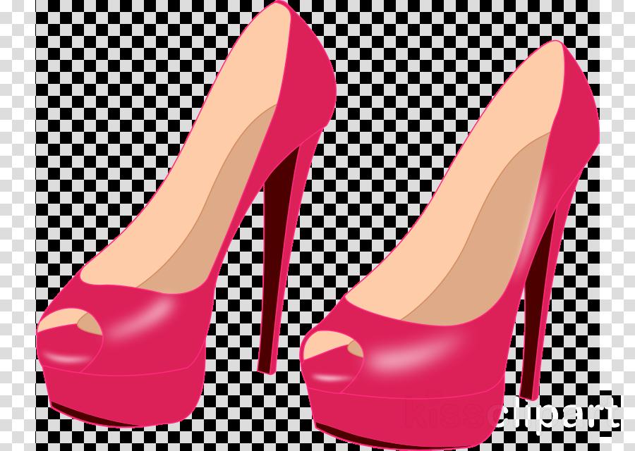Heels clipart full. Download pink high clip