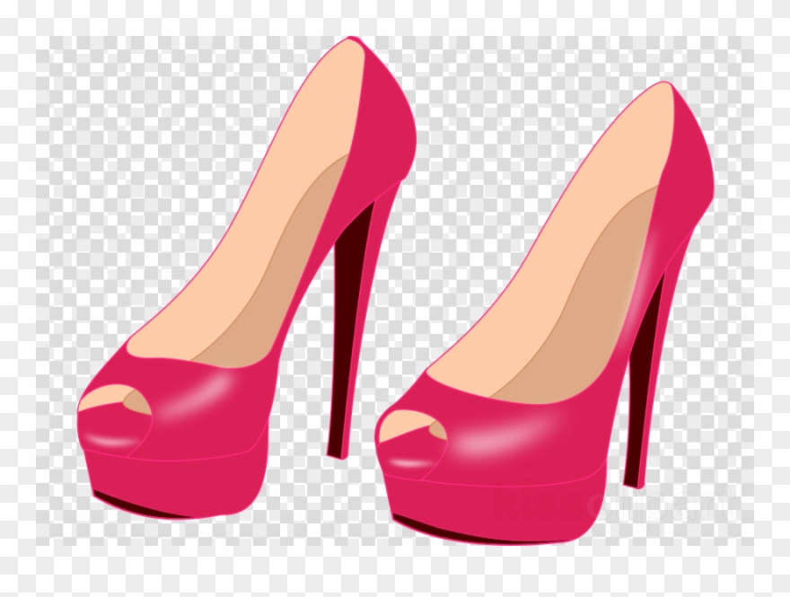 Download pink clip art. Heels clipart high heal