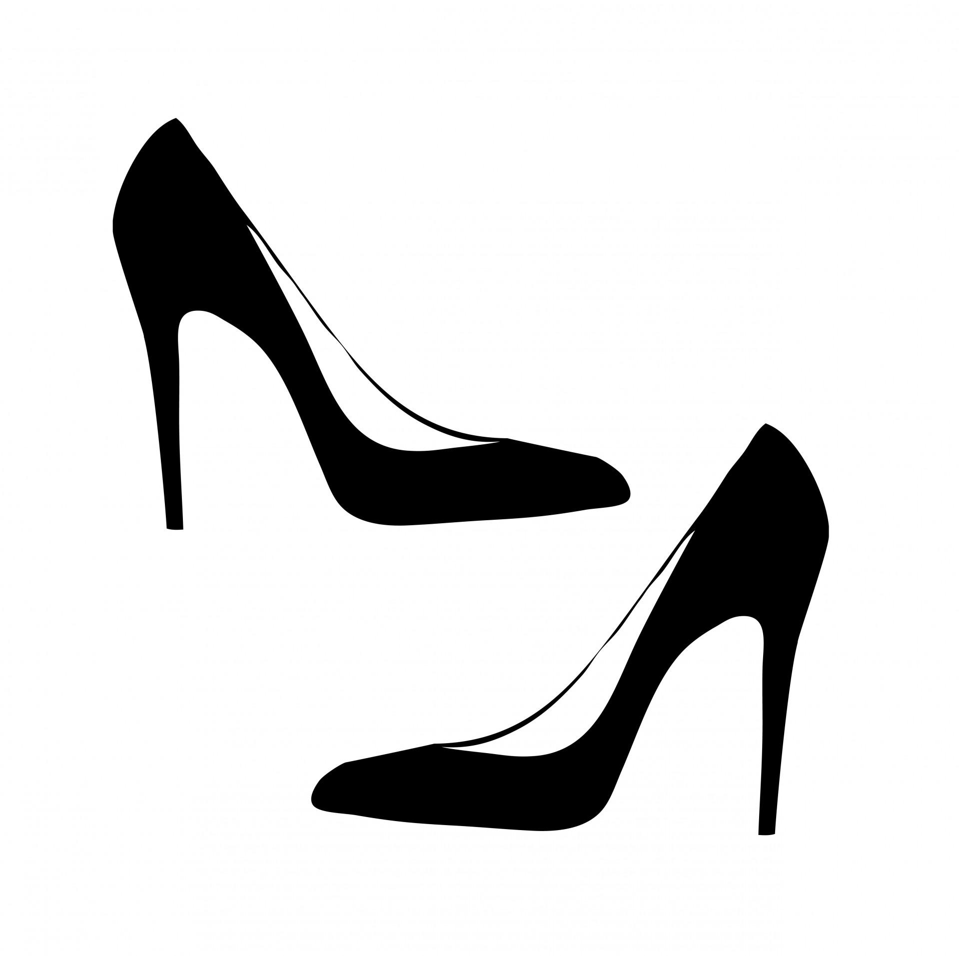 Heels clipart lady footwear. Shoes shoe womens women