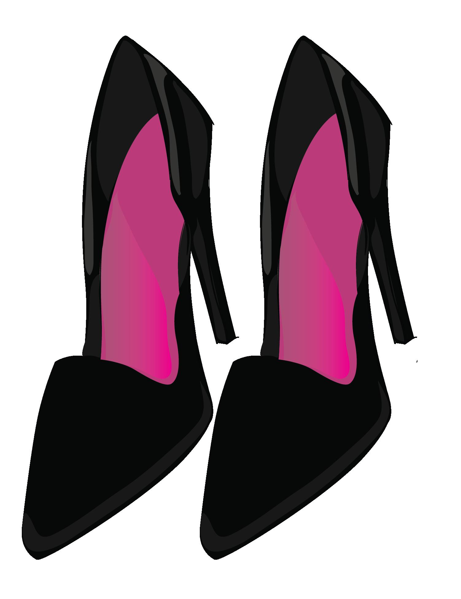 Heels clipart lipstick. Fashion girl clip art