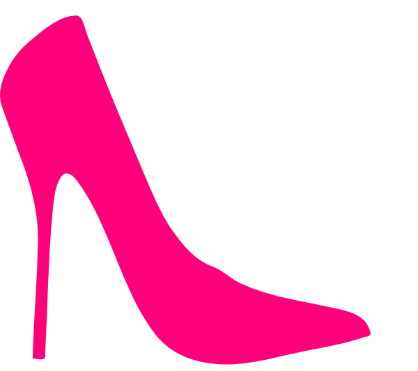 collection of pink. Heels clipart logo