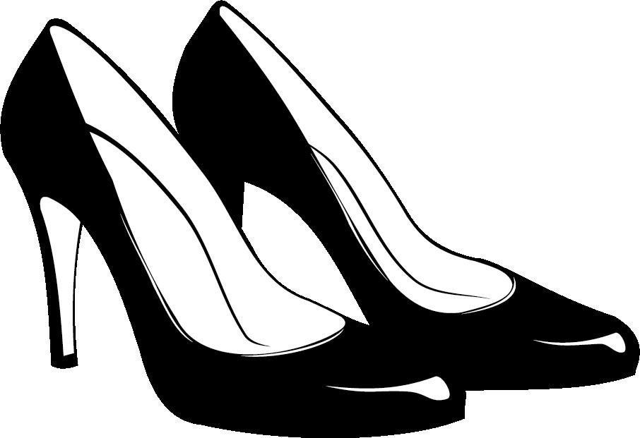 Shoe high heeled footwear. Heels clipart pair heel