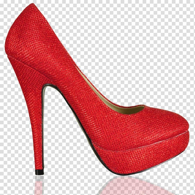 Shoe red high transparent. Heels clipart pair heel