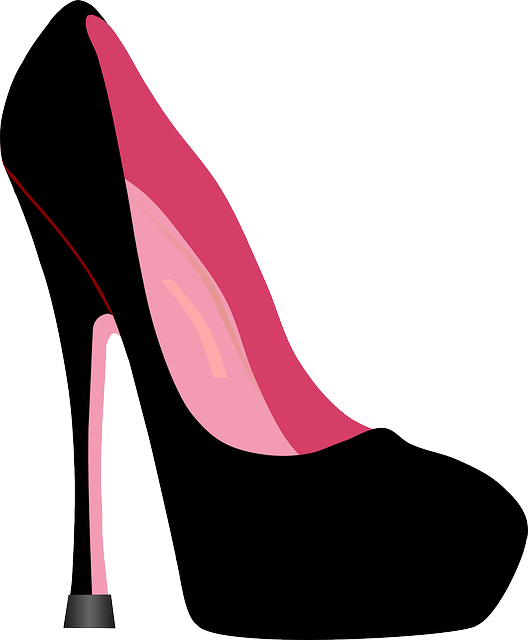 chunky heel hot. Pink clipart stilettos