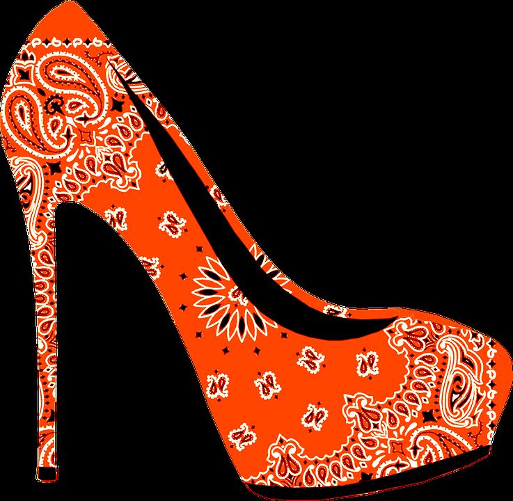 Heels clipart prom shoe. Free image on pixabay