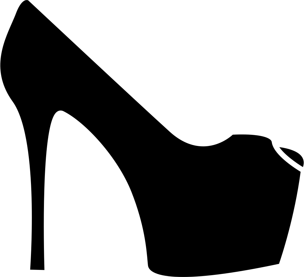 High svg png icon. Heels clipart purse
