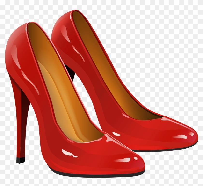 Heels clipart red heel. Png clip art transparent