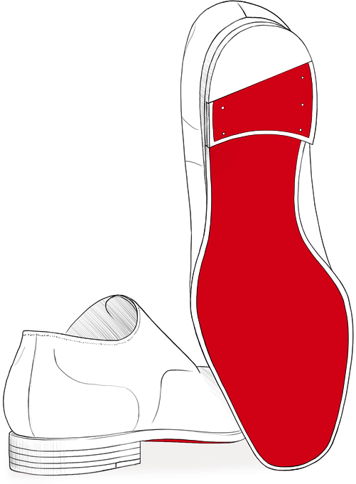 Heels clipart red sole. Christian louboutin discover men