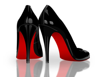 High etsy . Heels clipart red sole
