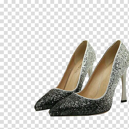 Court shoe high heeled. Heels clipart silver heel