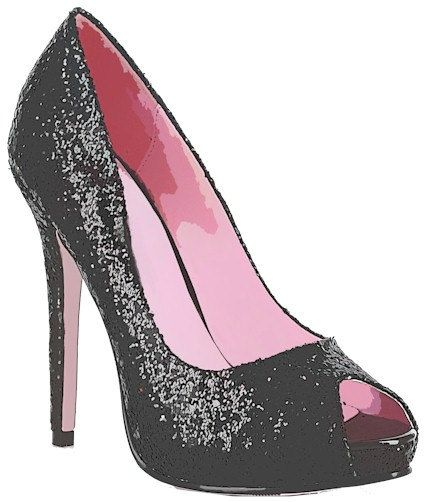 Back gallery for funky. Heels clipart sparkly heel