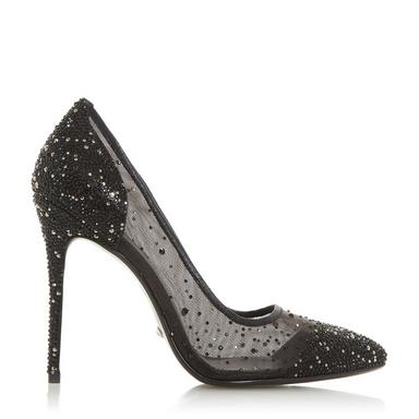 Heels clipart sparkly heel. Ladies high shoes dune