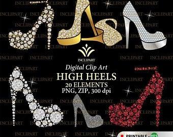 High etsy . Heels clipart stilettos