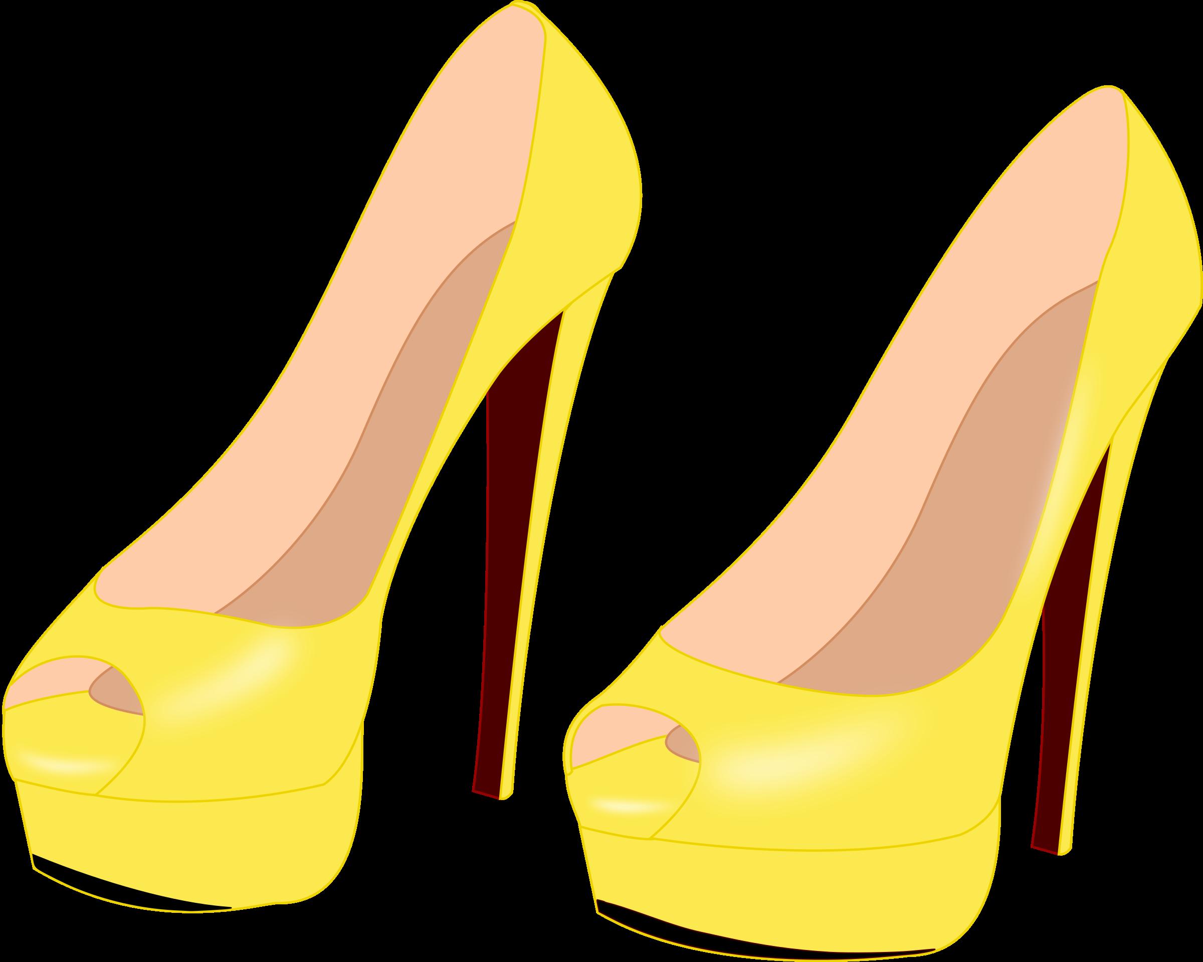 High heels big image. Pink clipart stilettos