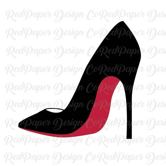 Pin on glam svg. Heels clipart stilleto