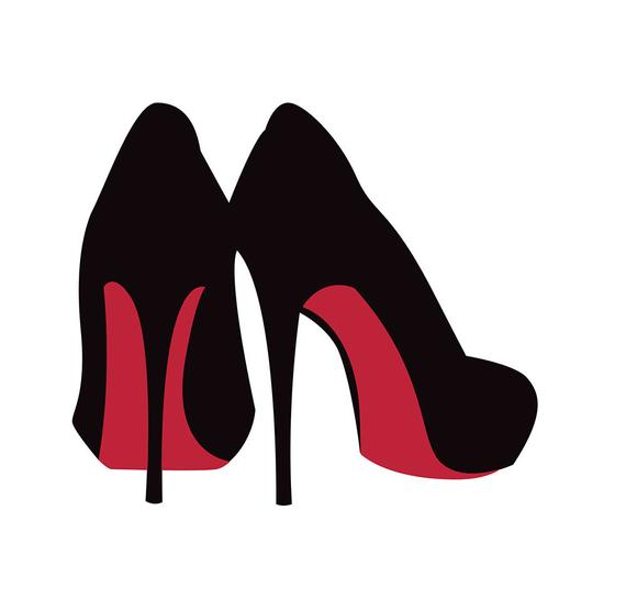 Svg high cut file. Heels clipart stilleto