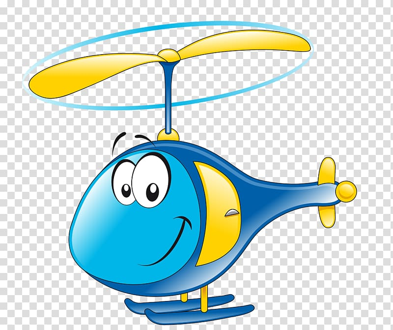 Helicopter clipart air transport. Blue and yellow character
