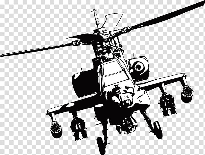 Black art illustration boeing. Helicopter clipart attack helicopter
