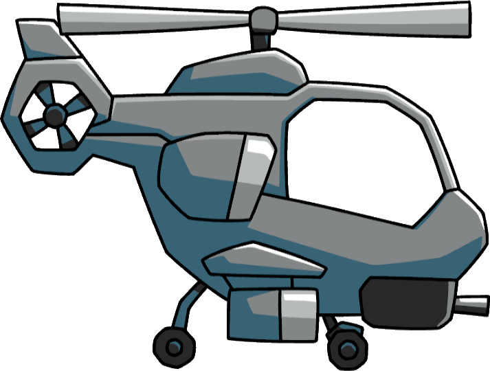 Scribblenauts unlimited wiki attackhelicopter. Helicopter clipart attack helicopter