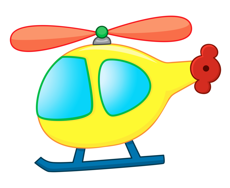 Helicopter clipart border. Cartoon airplane transport cute