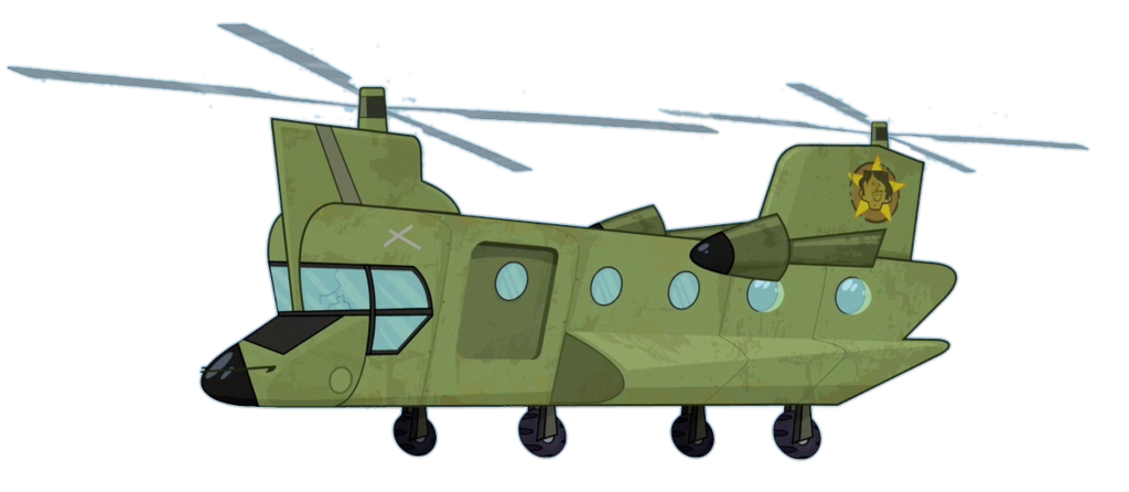 Total drama by jakehsu. Helicopter clipart chinook