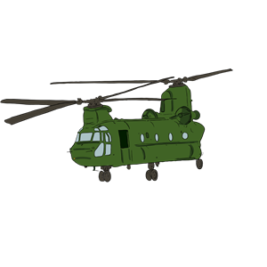 Helicopter clipart chinook. Free army cliparts download