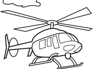 Helicopter clipart color. Coloring pages free download