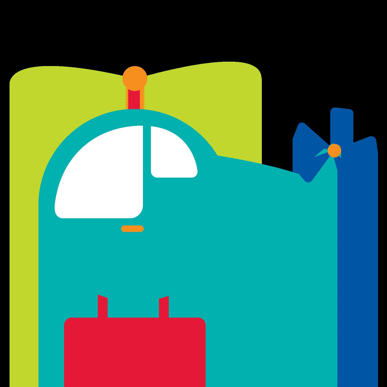 Transportation clipart air transportation. Meios de transporte helicopter