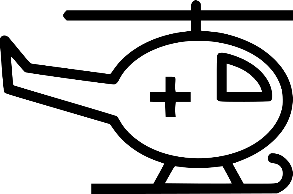 Helicopter clipart emergency helicopter. Hospital cross svg png