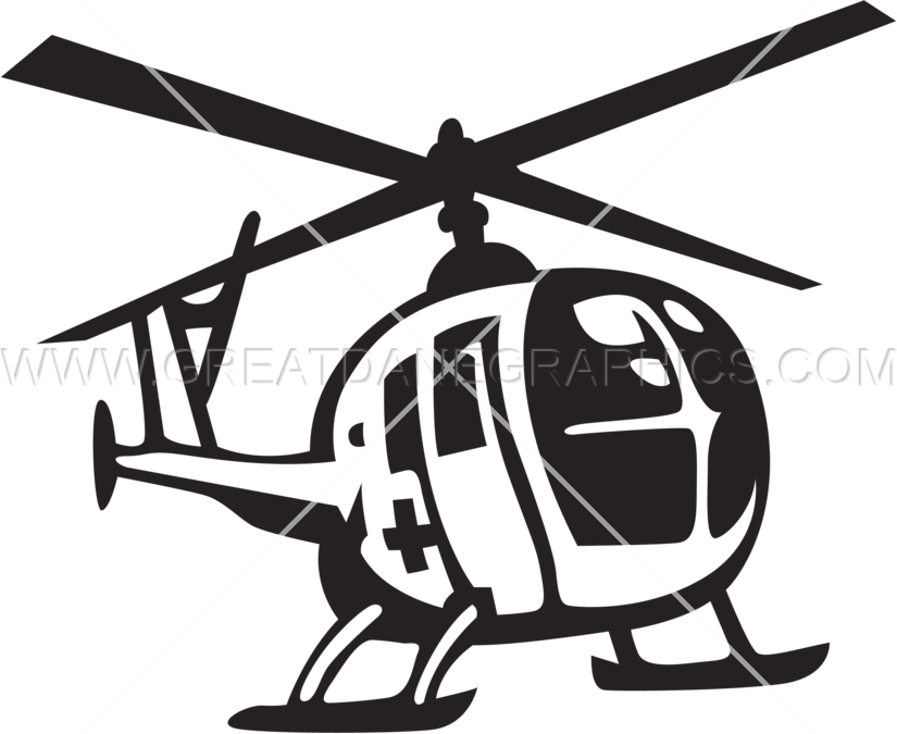 Production ready artwork for. Helicopter clipart emergency helicopter