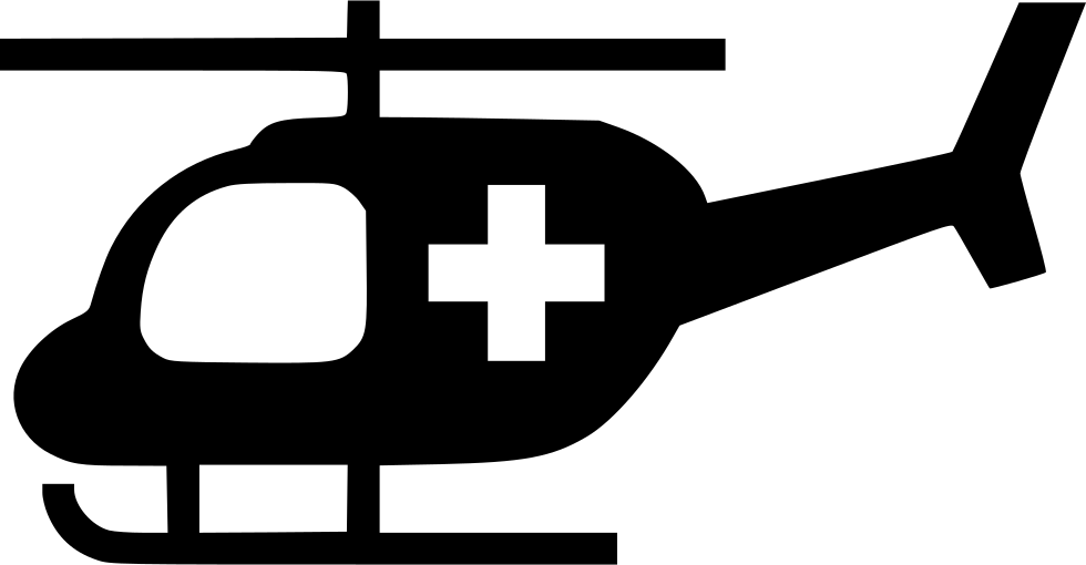 Helicopter clipart emergency helicopter. Svg png icon free
