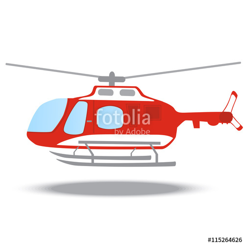 Emergency red fire stock. Helicopter clipart firefighter