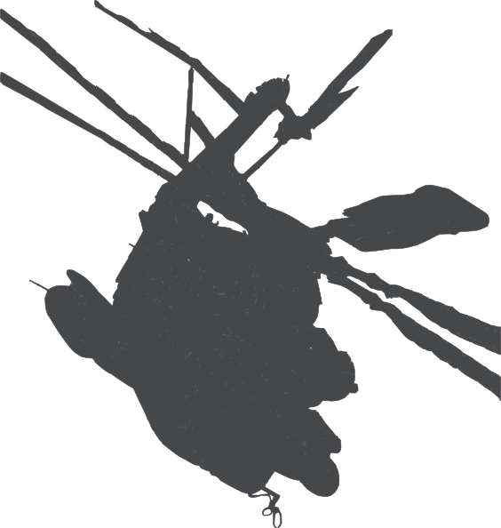 helicopter clipart gray