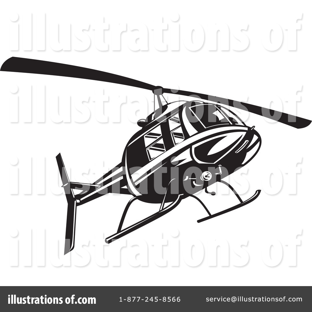 Illustration by patrimonio . Helicopter clipart gray