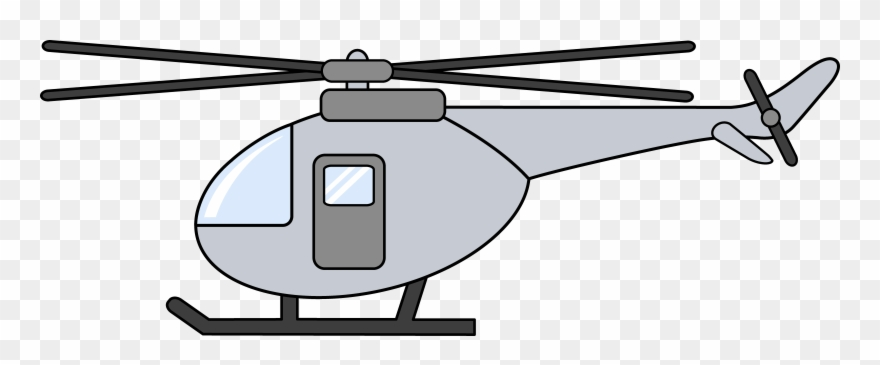 Helicopter clipart gray. Png download